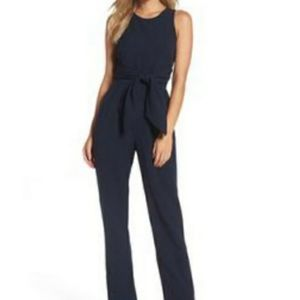 Navy blue jumpsuit size 10